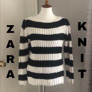 Excellent condition Zara Knit lux sweater